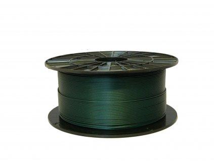 Tlačová struna, Plasty Mladeč, PLA, 1,75mm, green metalic, 1 kg