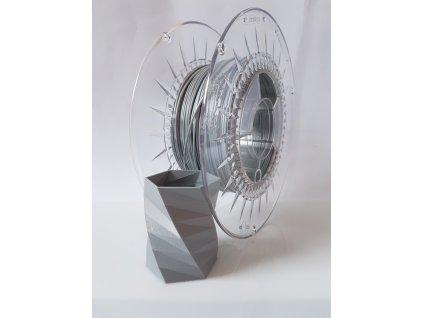 Devil Design tlačová struna PLA, aluminium, 1,75 mm, 1 kg, Pantone 17-04776