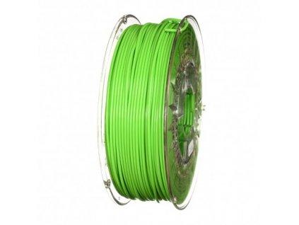 Devil Design tlačová struna PLA, bright green, 2,85 mm, 1 kg, RGB 68, 214, 44; Pantone 802C