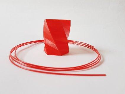 Tlačová struna, Plasty Mladeč, PET-G, 1,75 mm, red, 1 kg, nontransparent