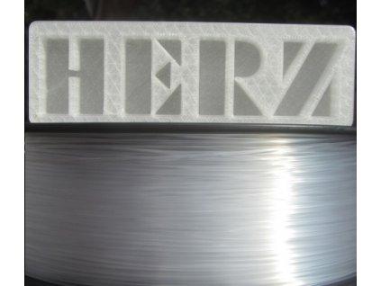 Plexisklo Herz tlačová struna1,75mm transparent 1 kg