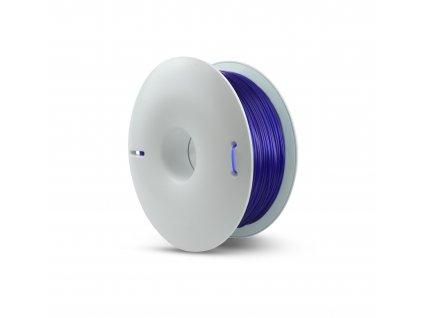 Fiberlogy tlačová struna PETG, priesvitná - navy blue tmavo modrá transparent, 1,75mm, 0,85kg