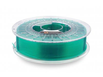 "PLA Fillamentum, Crystal Clear ""Smaragd Green"", 1,75mm, 0,75kg cievka"