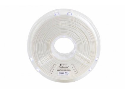 PolySmooth tlačová struna pre vyhladenie povrchu modelu alkoholom Layer free PVB 1,75mm Snow White 0,75 kg