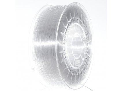 PETG Devil Design, 1,75 mm, 1 kg, translucent/trasparentný