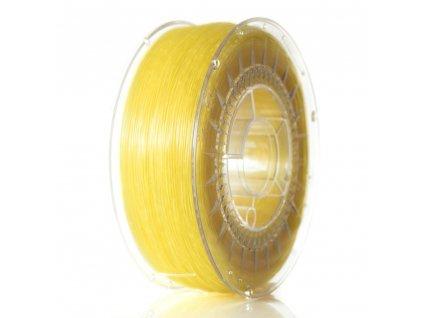 Devil Design tlačová struna, ABS, yellow transparent, 1,75 mm, 1 kg