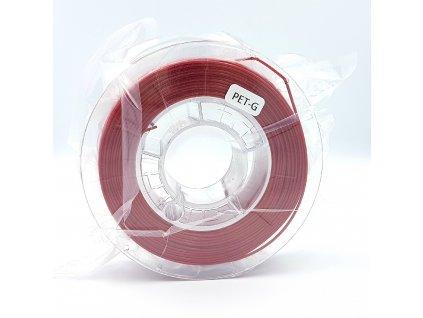 PET-G filament 1,75 mm červený Devil Design 330g  malé balenie