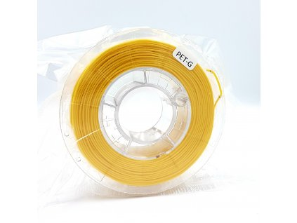 PET-G filament 1,75 mm jasne žltý Devil Design 330g