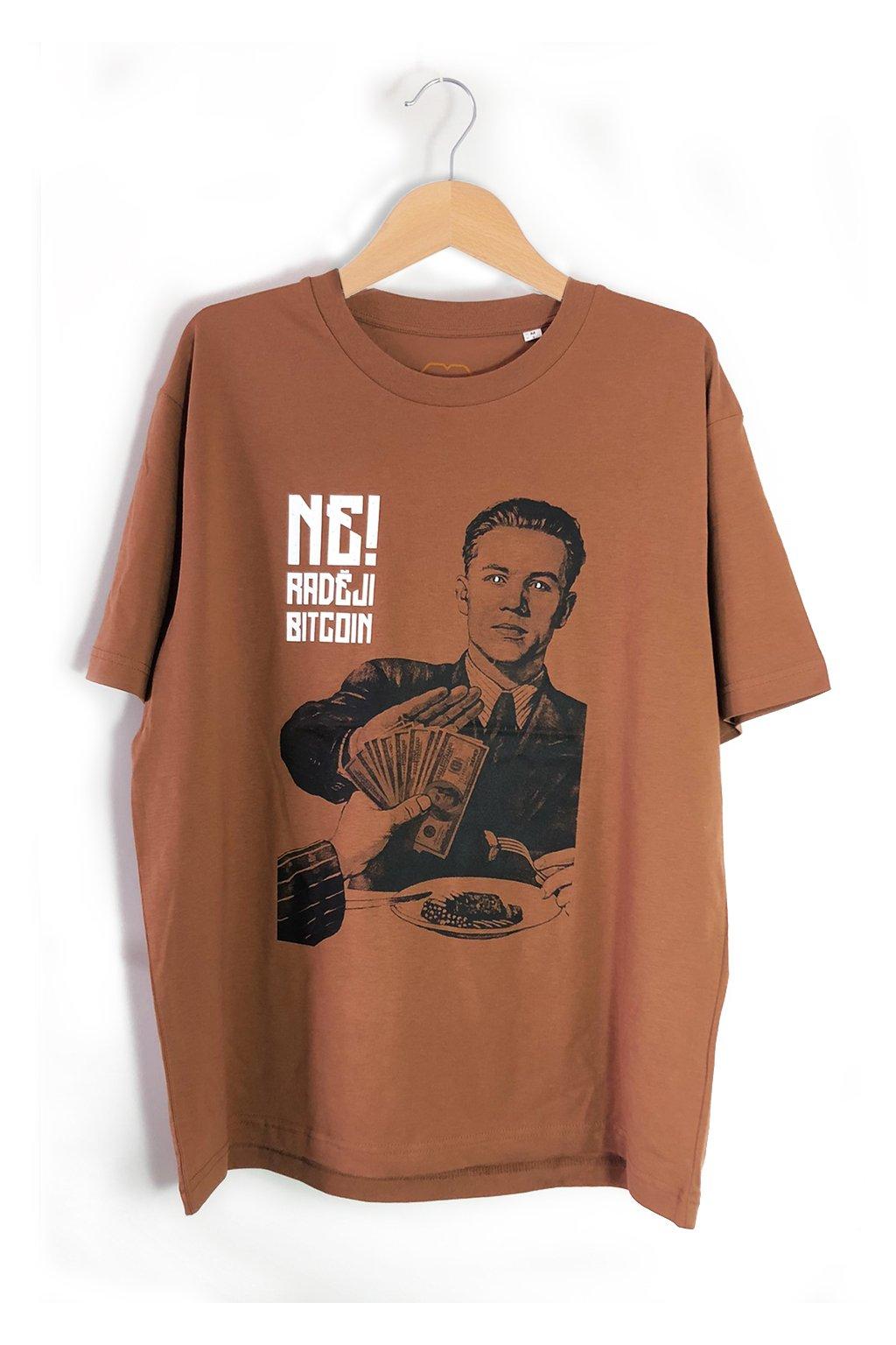 ne radeji bitcoin triko
