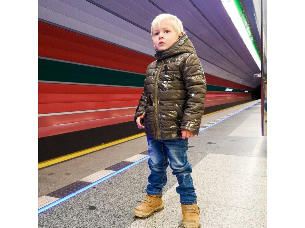 chlapecká zimni bunda