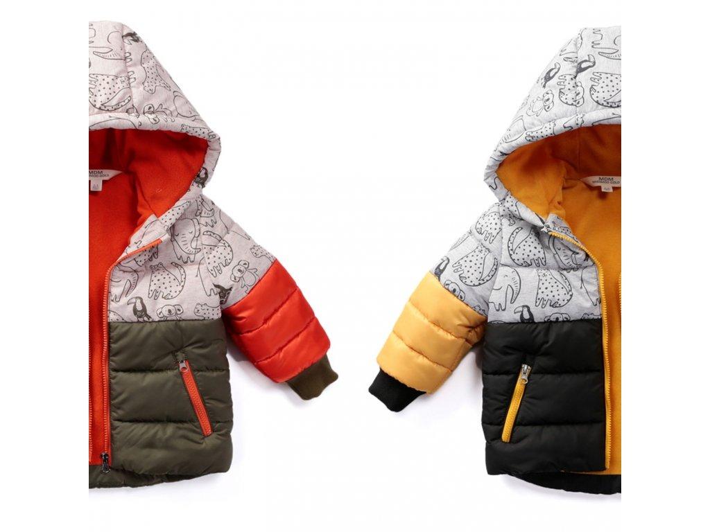 chlapecká zimni bunda safari