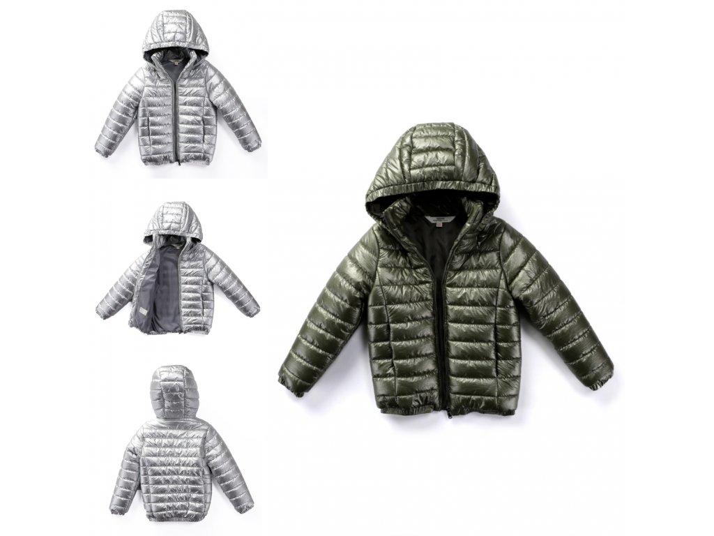 Metalická zimní bunda