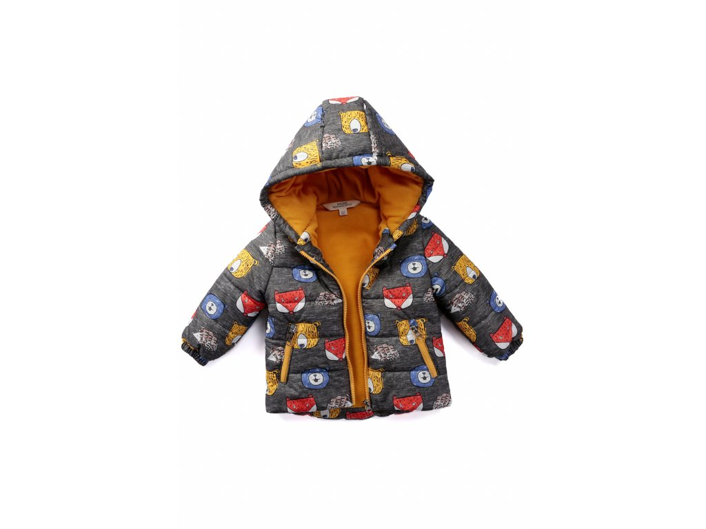 zimni bunda kojenecká fox
