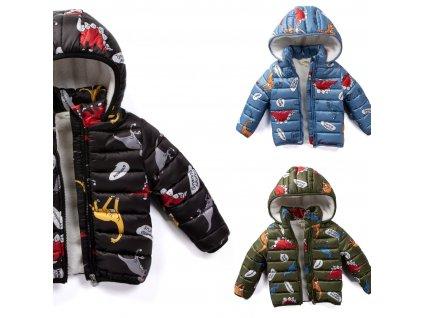 chlapecká zimni bunda Dino