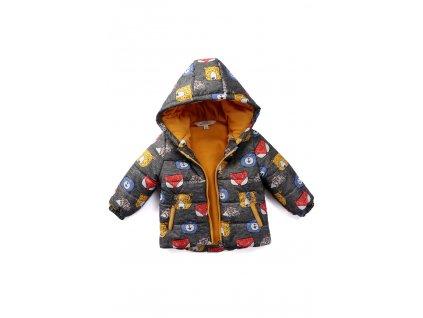 chlapecká zimni bunda fox
