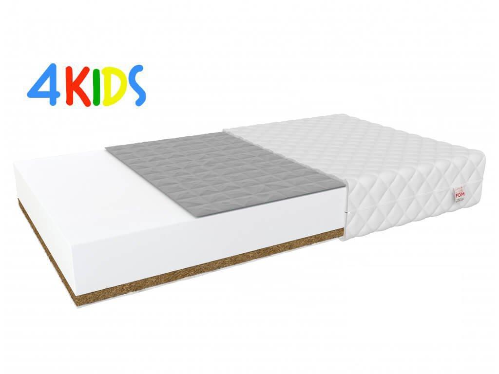 Gyerekmatrac hajdinával és kókusszal Bambino Console 120x70