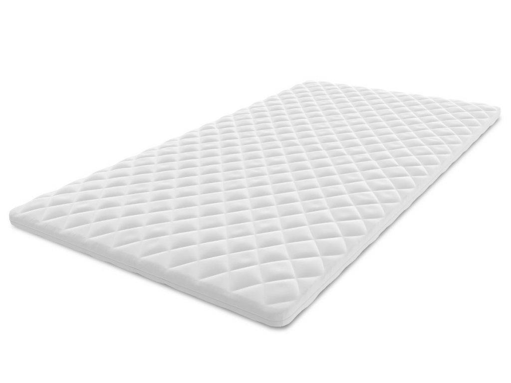 Latex / Hab fedőmatrac 90x200 - 4 cm