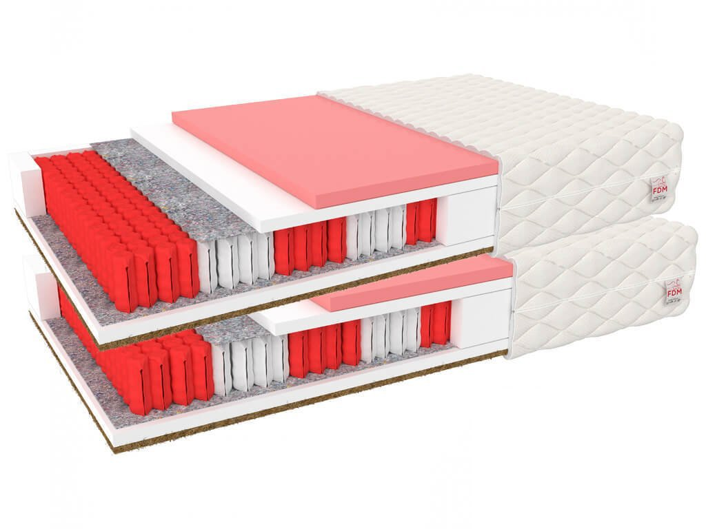 Ivory Multipack matracok 90x200 (2 db) - 1+1