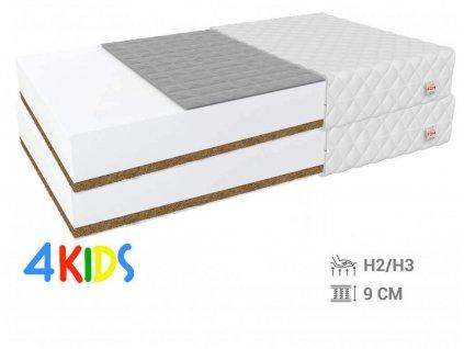 Bambino Console matracok, hajdina kókusz 80x200 (2 db) - 1+1
