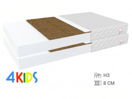 Bambino Coir matracok 80x200 kókusz (2 db) - 1+1