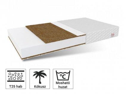 Coconut Coir matrac 160x80
