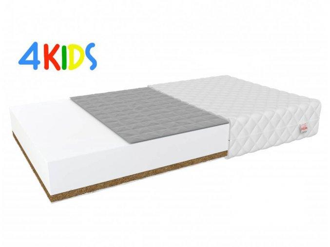 Kétoldalas kókusz-hajdina matrac Bambino Console 190x80