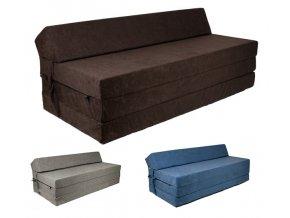 Összehajtható matrac 200x120 - többféle színben