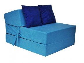 Összehajtható matrac -  Világoskék