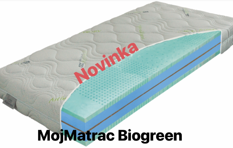 Novinka MojMatrac Biogreen