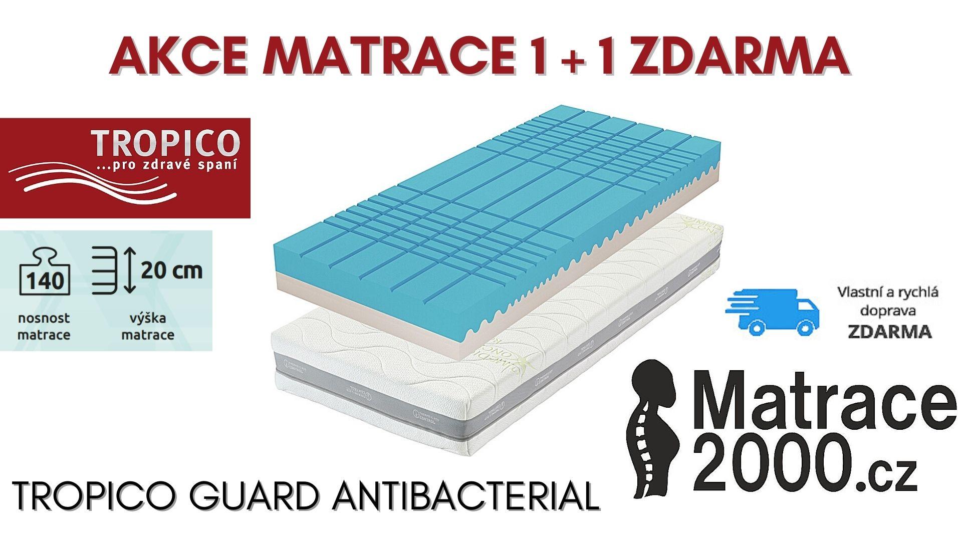 Matrace Tropico Guard Antibacterial výška 20 cm - Matrace2000.cz