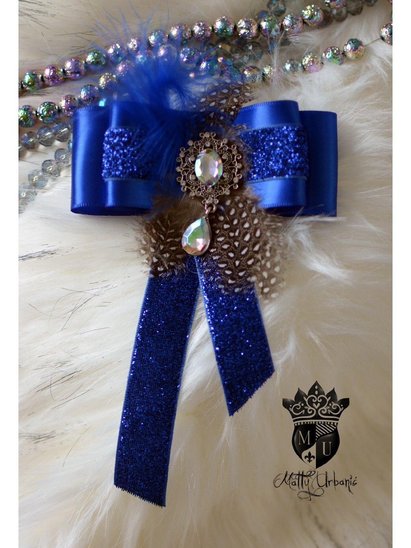 brošňa Royal Blue I.