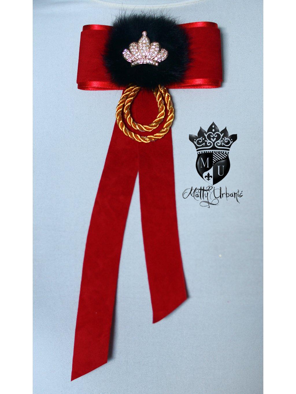 brošňa Royal Red