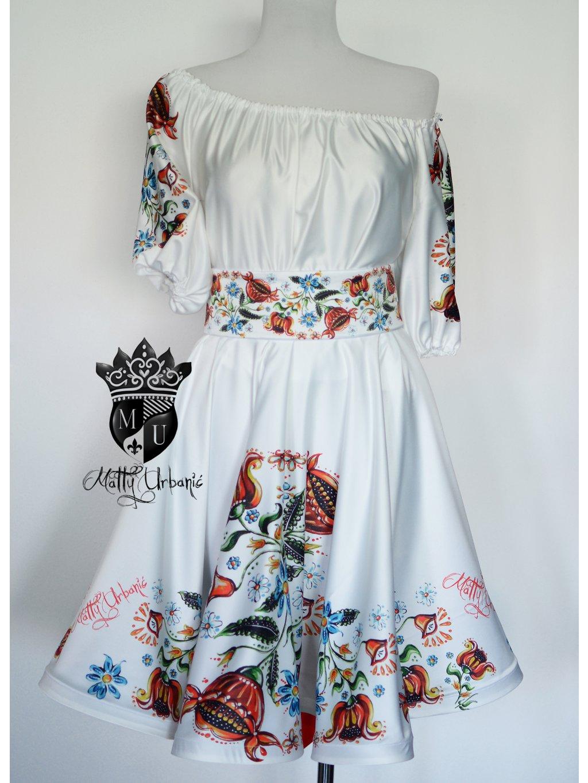 """šaty """"FOLK - srdiečko"""""""