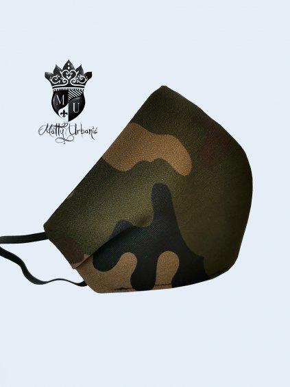rúško ARMY