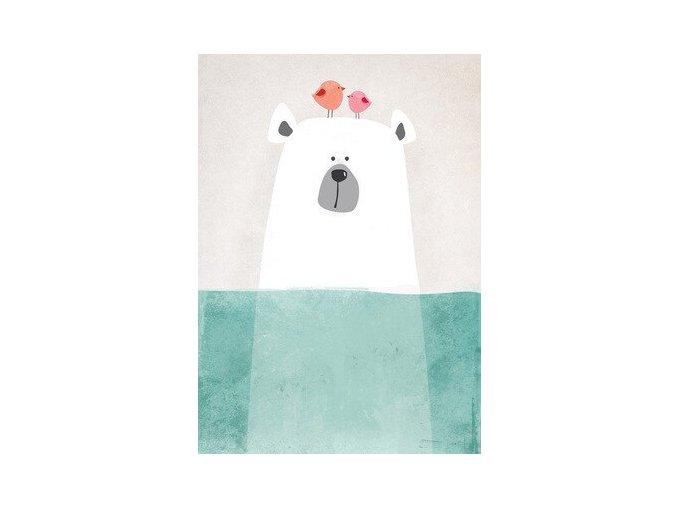 obraz medvedsptacky