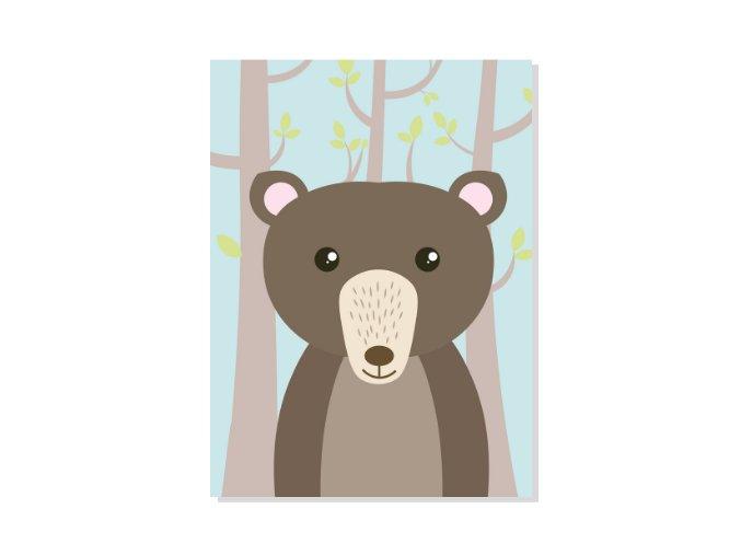 obrazekprodeti zviratkavlese medvidek