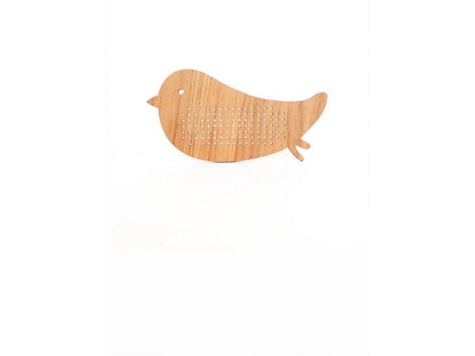 embroidery bird