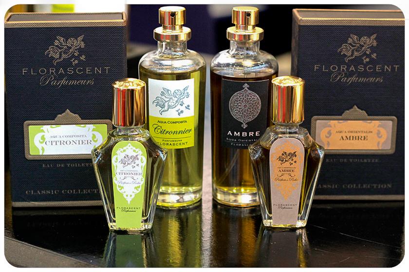 Přírodní parfémy Florascent