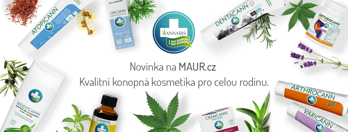 Produkty z BIO Konopí české firmy Annabis
