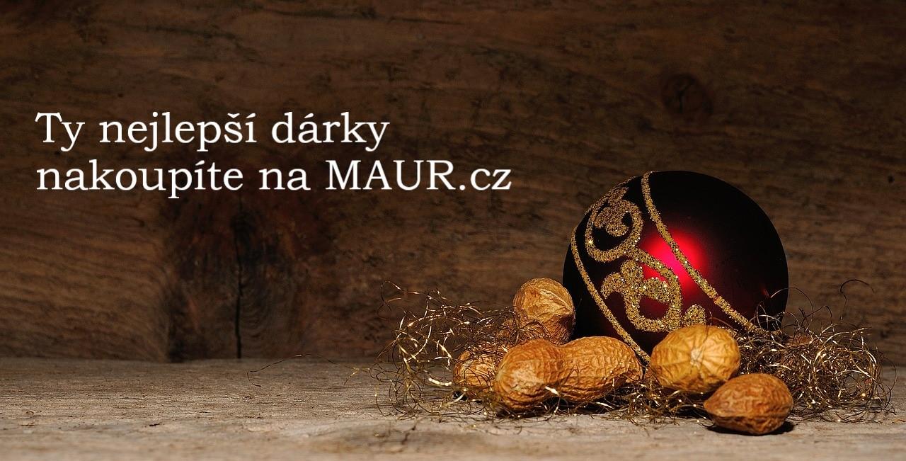Vánoční dárky vyberete na MAUR.cz