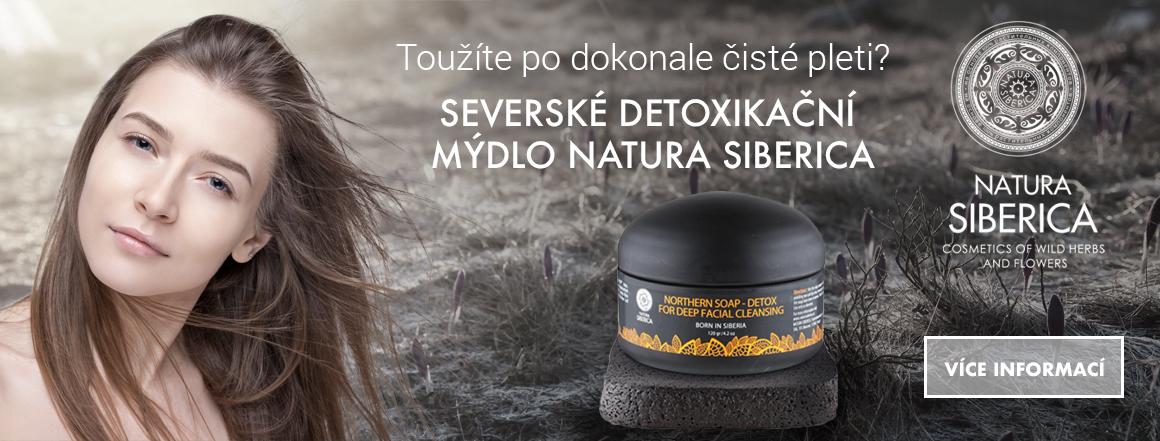 Severské mýdlo DETOX