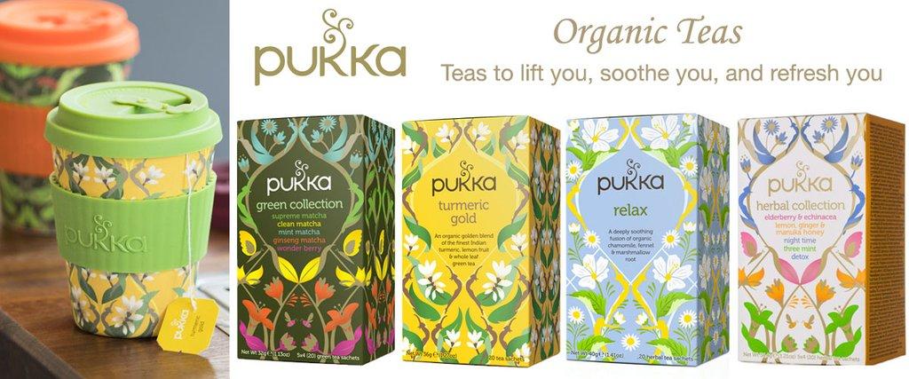 Ajurvédské čaje Pukka