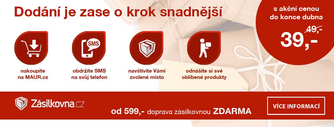 MAUR.cz dodává i do Zásilkovny