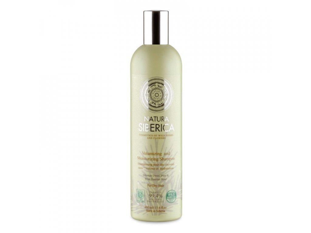 Šampon pro suché vlasy «Objem a hydratace» 400ml