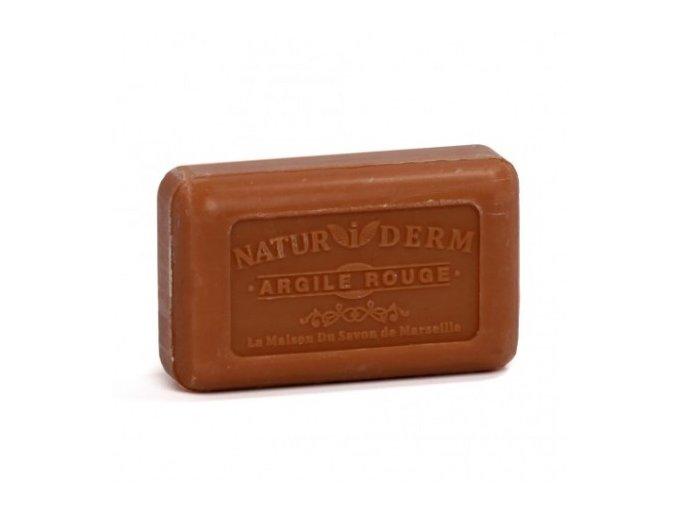 Dermatologické mýdlo s červeným jílem 125g