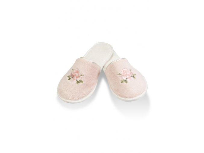 Dámské bambusové pantofle NEHIR - růžová