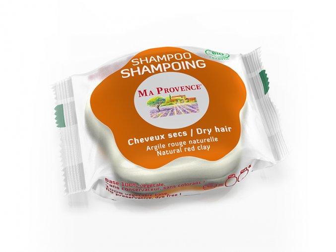 BIO Tuhý šampon pro suché vlasy 85g