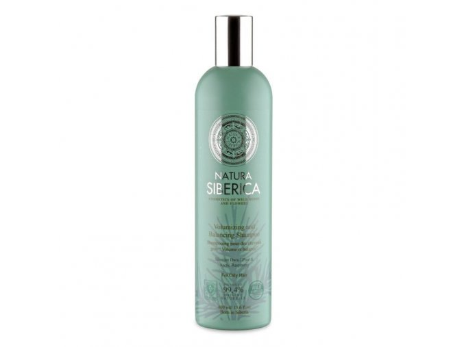"Šampon pro mastné vlasy ""Objem a bilance"" 400ml"