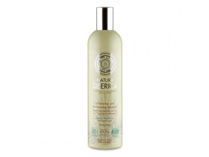 Natura Siberica Šampon pro suché vlasy «Objem a hydratace» 400ml
