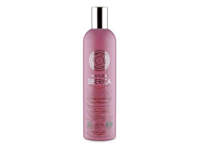 Šampon pro barvené a poškozené vlasy «Ochrana a lesk» 400ml